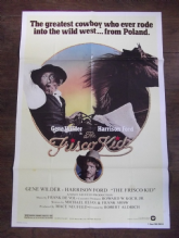 Frisco Kid, Movie Poster, Gene Wilder, Harrison Ford, '79